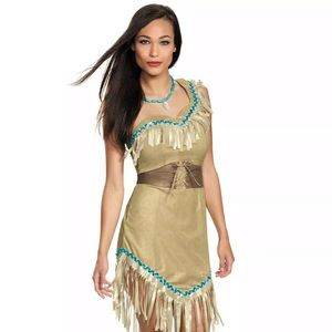 Other - Women's Pocahontas Adult Costume Large 12/14